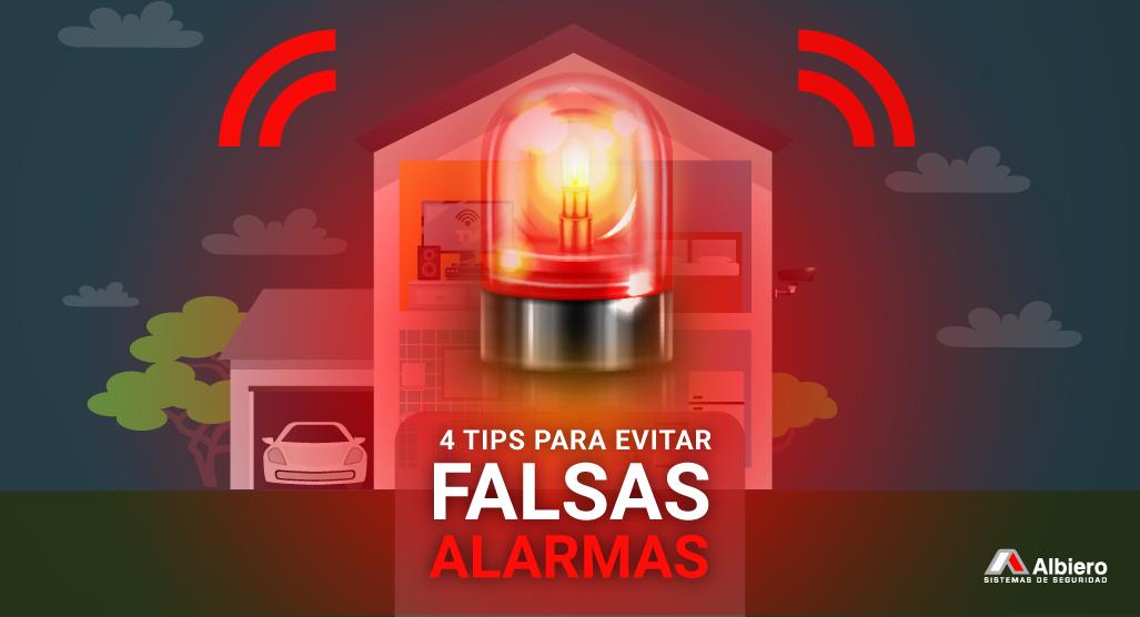 4 tips para evitar los falsos disparos de alarmas