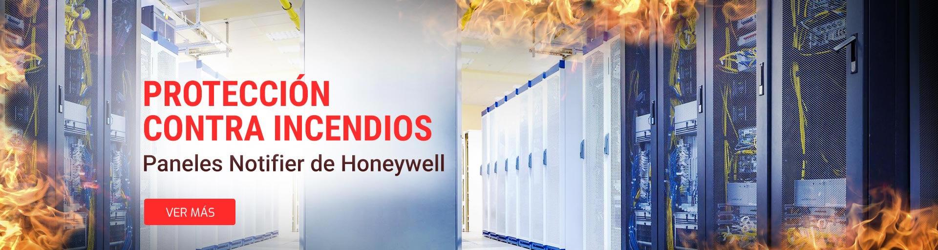 Paneles de Detección Honeywell